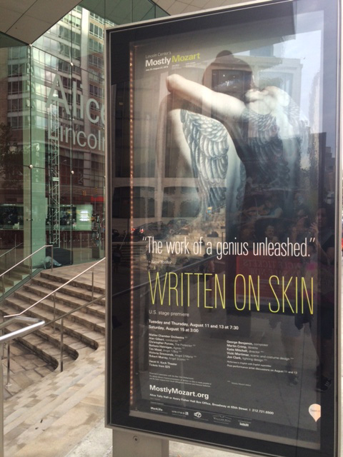 written on skin in new york city